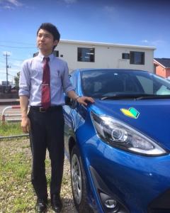 この車を見かけた方はご注意ください。 ※カメラマンは桜田さんです。